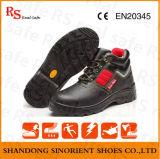 Tipo de los zapatos de seguridad y cargadores del programa inicial materiales superiores de cuero de la seguridad en la mina