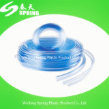 Boyau clair transparent en plastique de l'eau de PVC Flexiblel
