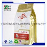 Heißer verkaufender flache Unterseiten-mit Reißverschluss seitlicher Stützblech-Nahrung- für Haustierebeutel