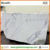 Partes superiores de mármore da mobília das partes superiores da vaidade dos Countertops/de Bianco Carrara da alta qualidade