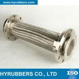 Tubo flessibile d'acciaio del metallo flessibile del fornitore di alta qualità con la flangia