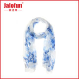 Drucken-Dame Silk Scarf (HYS-AF001) ISO-Cerificated Digital
