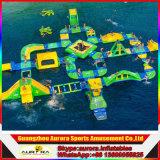 2016 новых конструированных гигантских раздувных парков воды/парк атракционов воды для моря