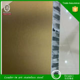 PVD Edelstahl Honeycomb Panel Composite Panel für Metal Project Working