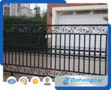 Puerta residencial económica del hierro labrado de la seguridad (dhgate-23)