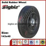 Fatto in Cina la rotella di gomma solida dell'automobile del giocattolo da 5 pollici