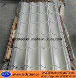 Покрынная цветом застекленная стальная плитка крыши
