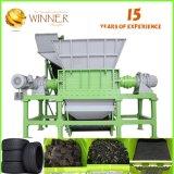 per plastica completa dello spreco della trinciatrice dell'asta cilindrica di vendita la doppia che ricicla strumentazione
