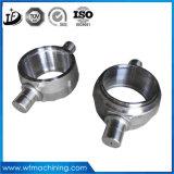 Noix/boulon/arbre/chemise/boucle/matériel de pièce forgéee d'acier du carbone de forge de la Chine