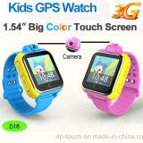 a tela de toque 3G caçoa o relógio do GPS com câmera e o SOS para a ajuda (D18)
