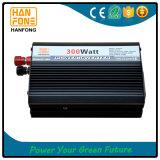 inversor modificado portable de la potencia de la onda de seno de 300W 12V 220V solo