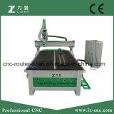 Gravura do Woodworking do router do CNC e máquina de estaca