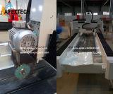 Каменный гравировальный станок CNC мрамора с увидел вырезывание