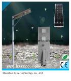 5 años de la garantía 60W LED de luz de calle solar con el sensor de movimiento