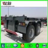 China Made Good Quality 2 Axle 20FT Skeleton Trailer