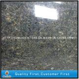 조립식 Ubatuba 브라질 녹색 화강암 부엌 조리대 싱크대 (좋은 가격)
