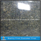Bancadas verdes do console de cozinha do granito de Profab Ubatuba Brasil (bom preço)
