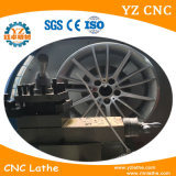 Máquina pulidora de la rueda de la aleación del torno de la reparación del borde de la rueda