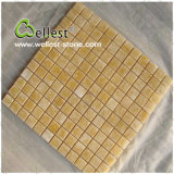 J116 Tanslucent Yellow Honey Onyx Mosaic Tile per Backgroud/Floor/Wall Cladding/Bathroom