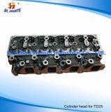 Cabeça de cilindro das peças de motor para Nissan TD25 11039-44G01 11039-44G02