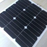 Comitato solare semi flessibile solare 20.5V di prezzi 30W Sunpower della pila