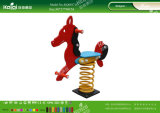 Kaiqi scherza i giocattoli svegli del cavaliere della molla del PE per il cortile posteriore, asilo