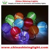 Nouvelles prochaines lumières populaires de vacances du panneau solaire LED de modèle de lanterne