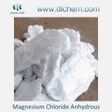 Cloruro blanco del magnesio del polvo/de la escama/del bloque anhidro