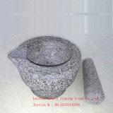 Ступка /Stone инструмента травы и специи и пестик/ступка и пестик Grantie