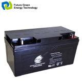 batterie d'acide de plomb de 12V55ah VRLA pour le système d'alimentation solaire à la maison