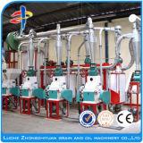 maquinaria pequena do moinho de farinha do tamanho 5-35t/24h
