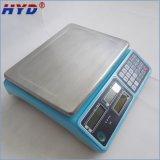 Escala de pesaje electrónica del vector para 3kg a 30kg