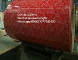 Prepainted гальванизированные катушки стали с верхней частью 12-20um покрытия цвета, задним 5-7um