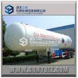 acoplado medio del LPG de la calidad de la presión del árbol doble 38000-40500L que cocina el acoplado del tanque del LPG del acoplado del LPG del árbol del gas 2 semi