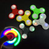 New Funny LED Light Hand Dedo Spinner Plastic EDC Hand Spinner para Autismo e Adhd Relief Focus Ansiedade Stress Gift Toys