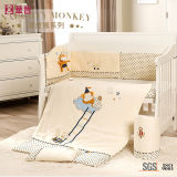Ensembles de couettes de salle de nursery pour bébé en coton