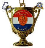 Медаль трофея с отделкой гольфа конструкции 3D
