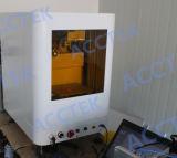熱い販売新しいデザイン金属および非金属材料のための回転式ファイバーレーザーのマーキング機械