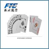 Оптовой напечатанная таможней бумажная карточка игры играя карточек