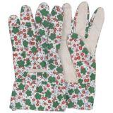Guantes punteados PVC de la mano del trabajo de la palma de la limpieza de la cocina del pun¢o del algodón