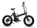 20 дюймов складывая тучный электрический велосипед