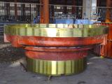 Vertikales Tausendstel-reibender Tisch für Zementindustrie