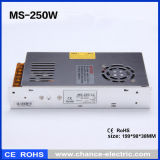 12V 24V Schaltungs-Stromversorgung der Gleichstrom-Minigrößen-250W (MS250W)