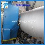 Tubo d'acciaio di qualità e tubo interni e macchina di pulizia di granigliatura della superficie di Extenernal