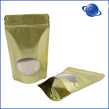 Transparente Aluminiumfolie-Beutel-Raum-Folien-Fastfood- Beutel-Folien-Nuts Beutel mit vorderem freiem Raum