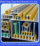유리 섬유에 의하여 Pultruded 강화되는 플라스틱 GRP/FRP 단면도