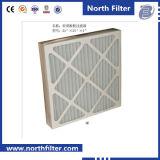 Плиссированный воздушный фильтр главного картона для очистителя воздуха