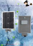 el sensor de movimiento 8W integró todos en una luz de calle solar del LED