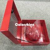 Rectángulo de regalo plegable rojo de papel clásico del embalaje de Cosmtic con