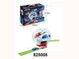 O brinquedo plástico do presente da promoção puxa o carro da trilha (825011)